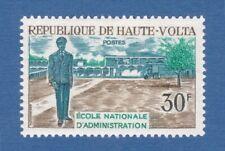 Alto Volta 1968 scuola amministrazione administration school economy MNH**og