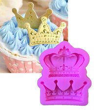 Crown from Princess Queen 3D Silicone Mold Fondant Cake Cupcake Decorate TooKRFS