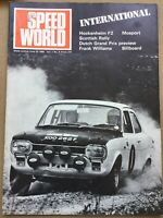 Speed World International Magazine - Vol 1 No 8 - 22 June 1968 - Scottish Rally