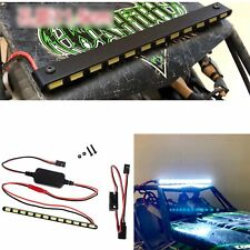 12 LED Bright Light Bar Top Roof Lamp for 1/10 Axial Wraith 90018 90020 90045 RC