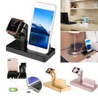 Charging Dock Stand Bracket Holder Accessories For iPhone For Apple Watch iWatch