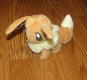 "Pokemon Plush Eevee Banpresto 6"" doll stuffed figure Toy"