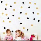 52 Pcs/lot Refrigerator Decor Vinyl Circles Wall Stickers Polka Dots Decal