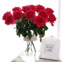 Party Artistic Design Silk Flowers Rose Flower Home Wedding Decor