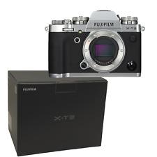 New FUJIFILM X-T3 Mirrorless Digital Camera (Body Only) SILVER