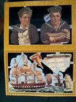Cromos Ingleses Antiguos Troquelados Romanticos MAMELOK PRESS siglo XX SCRAPS