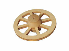 FAIRY GARDEN WOODEN WAGON WHEEL - VERY GOOD QUALITY - NEW & PACKAGED- 1:12 SCALE