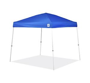 E-Z UP SR9104BL Sierra II 10 by 10-Feet Canopy Blue Royal Blue 10' x 10'