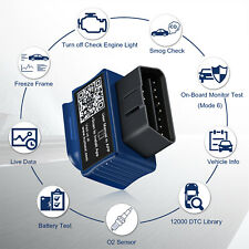 OBD2 Scanner Bluetooth NexzScan Car Code Reader Diagnostic Tool iPhone Android