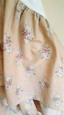 New listing Laura Ashley Bed Skirt Dust Ruffle Florette Isabelle Floral Flowers Full - Read