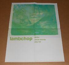 Lambchop Thriller Poster Original Promo 17x22 RARE