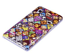 Funda f LG Optimus l9 p760 funda protectora case cover bolso cáscara cómic emoticonos