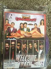 DVD Great Grand Masti & Welcome Back Hindi Movie 2 In 1 Hindi movie