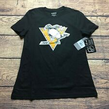 Reebok Youth Boys XL 16 Pittsburgh Penguins T Tee Shirt NEW