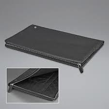 El Casco Note Pad Black Leather