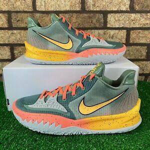 🏀Nike Kyrie 4 Low (Size 12) CW3985-301 'Sunrise' Green/Orange/Yellow Shoes 🏀