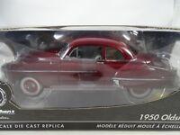 1:18 Ertl Authentics - 1950 Oldsmobile Rojo - Rareza - Nuevo / Embalaje