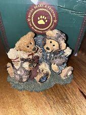 Boyds Bears & Friends #2255 Grenville & Knute Football Buddies 1995 13E/2420