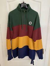 Aimé Leon Dore Half Zip Sweatshirt Pullover UK L Multi Oi Polloi Mr Porter