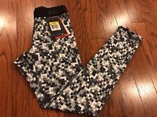 new Nike Women's Pro Hyperwarm Training  sport Tights Small Black white $55