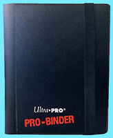 ULTRA PRO 2 POCKET PRO-BINDER BLACK 20 Pages 80 Card Album Magic MTG Pokemon