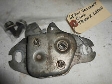 1964  PLYMOUTH VALIANT TRUNK LATCH WITH BOLTS  ORIGINAL PART