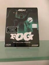 THE FOG 4K KULT BLU RAY + CARD DA COLLEZIONE!!+UN OMAGGIO