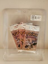 Pokemon Fossil 3 Booster Pack Long UNWEIGHED Costco Vintage Blister *RARE* 1999