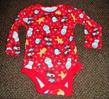 new GIRLS / BOYS red Christmas bodysuit / vest 9 - 12 months - festive - from TU