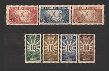 Turkey - Sc# 758 - 764 MNH (3k dry / gum thin)  /  Lot 0719385