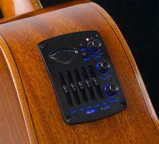 ACME Bs5m Acoustic Guitar Pickup EQ Mic+piezo LCD chromatic tuner