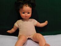 "Vintage Furga Italy 17"" Doll. Cloth Body."