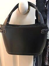 Ladies Bally Black Leather Handbag