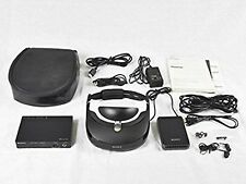 SONY HMZ-T3W Wireless Head Mounted Display Personal 3D Viewer F/S JAPAN USED