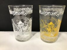 Welch's Hoody Doody Juice/Jelly Glasses. Pair EUC