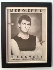 MIKE OLDFIELD*Discovery*1984*ORIGINAL*POSTER*AD*FRAMED*FAST WORLD SHIP