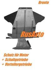 2X BRONTO - Unterfahrschutz Motor ,Getriebe , Verteiler  LADA NIVA