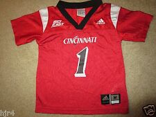 Cincinnati Bearcats #1 Football adidas Jersey Toddler 3T