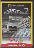 *National Geographic: Megafabricas 2 Vol. 2 (DVD) AB Life Promotion