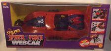 Spider-Man Spider-Force Web Car With Villain Capturing Action By ToyBiz (MISB)