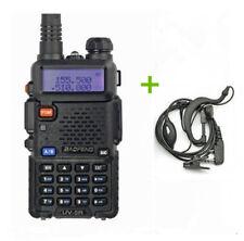 Baofeng UV-5R UHF/VHF + Auricolare FM PMR Radio Dual Band RICETRASMITTENTE
