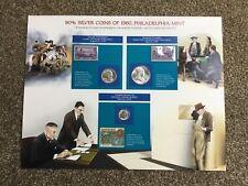 More details for 90% silver coins of 1960  philadelphia mint set, commemorative. unused, stamps