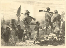 Finding Dr. Livingstone: Mr Stanley & his retinue. Africa Explorers 1872