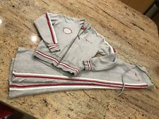 Carbrini For Girls Age 8 Grey tracksuit - Lovely Condition