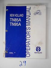 New Holland Tn85A Tn95A Tractor Operator'S Owner'S Manual 87576340 7/07