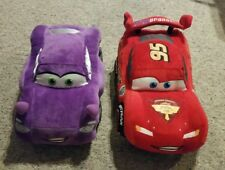 """Disney Cars Lightning Mcqueen Holly 13"""" Plush Authentic Disney Store Exclusives"""