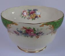 More details for vintage paragon rockingham green sugar bowl fine china 1939 -1949
