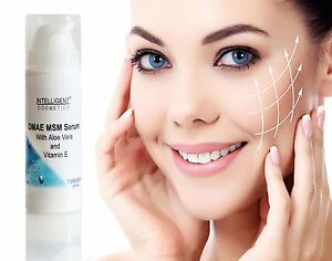 DMAE MSM Serum Anti Ageing, Anti-oxidant  Anti Wrinkle Firming Collagen Booster