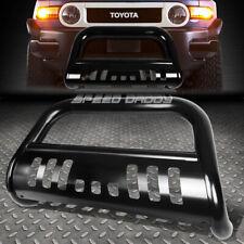 For 07 14 Toyota Fj Cruiser Matte Black 3bull Bar Push Bumper Grille Guardskid