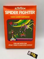 Atari Video Computer Spider Fighter NEW IN BOX FACTORY SEALED Orange Box